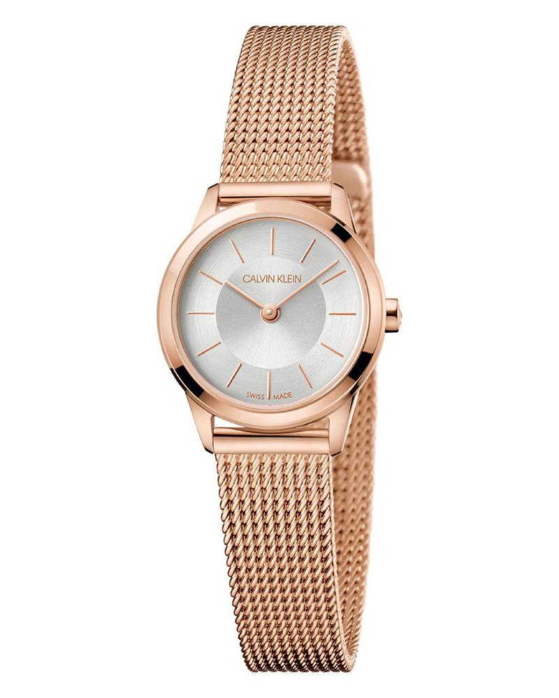 Ρολόι Calvin KLEIN Minimal Rose Gold Stainless K3M23626   brands calvin klein