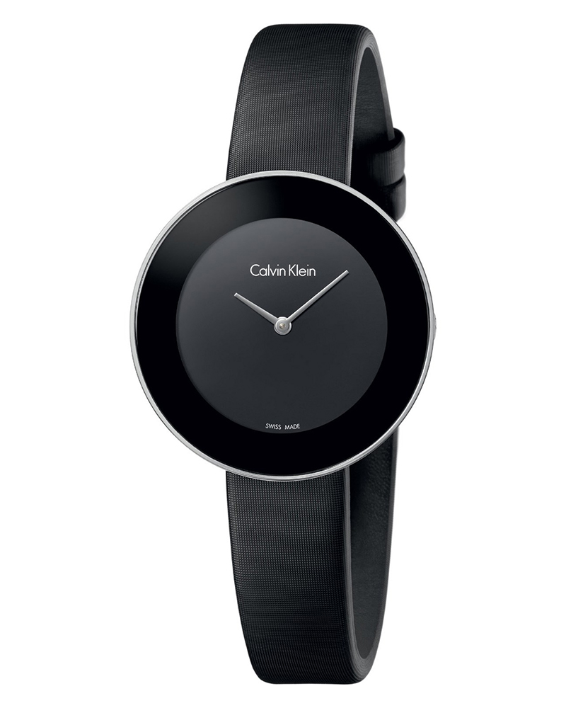 Ρολόι Calvin KLEIN Chic Black Fabric Strap K7N23CB1   brands calvin klein