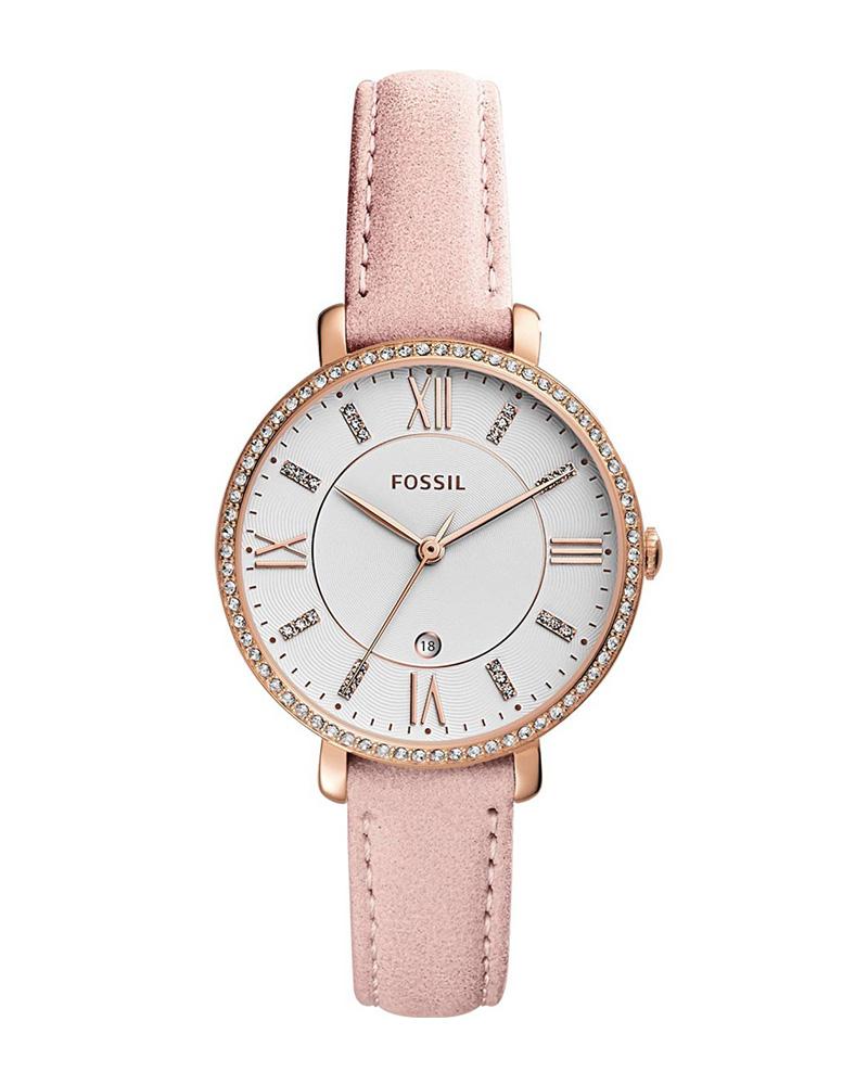 Ρολόι FOSSIL Jacqueline Crystals Pink ES4303   brands fossil