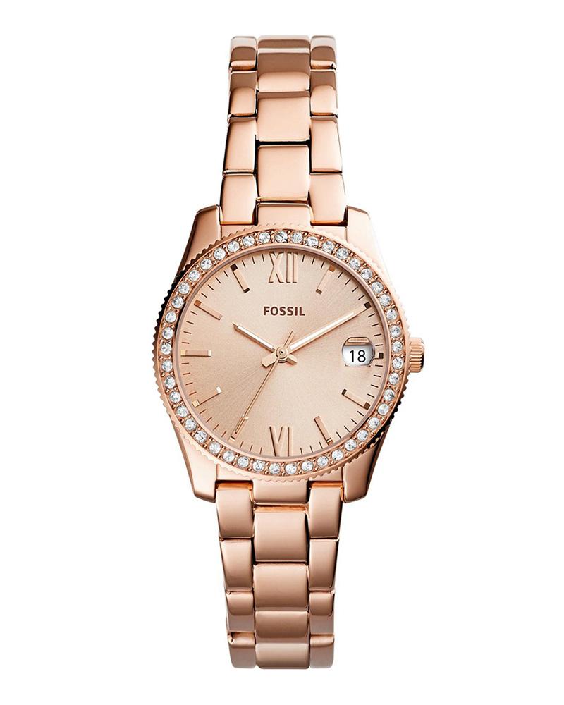 Ρολόι FOSSIL Scarlette Crystals Rose Gold ES4318   brands fossil