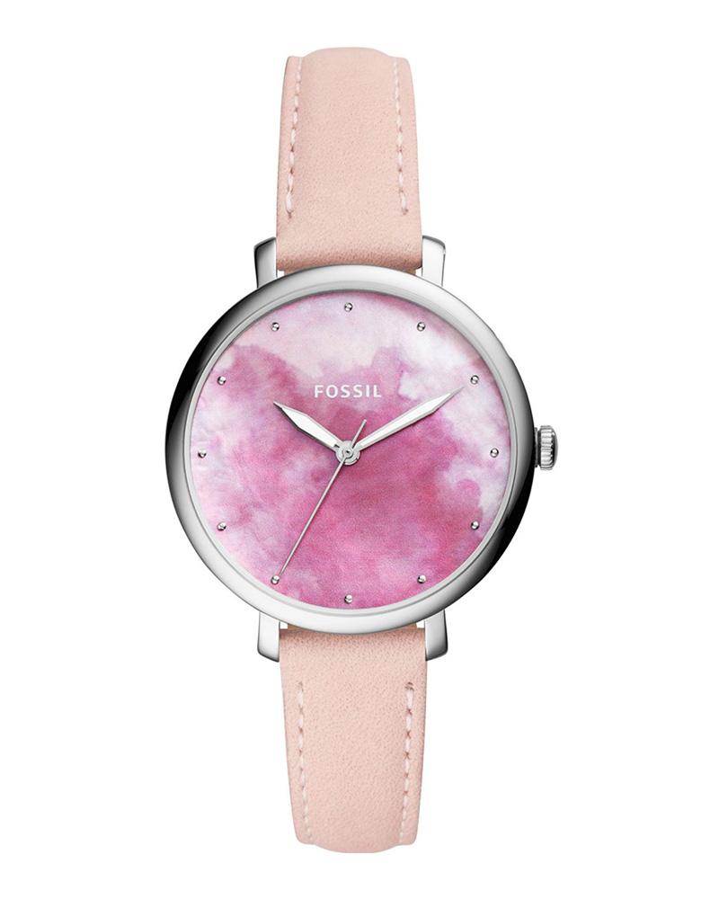Ρολόι FOSSIL Jacqueline Pink ES4385   brands fossil