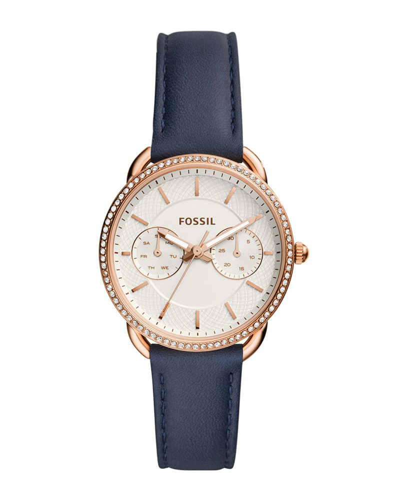 Ρολόι FOSSIL Tailor Crystals Blue ES4394   brands fossil