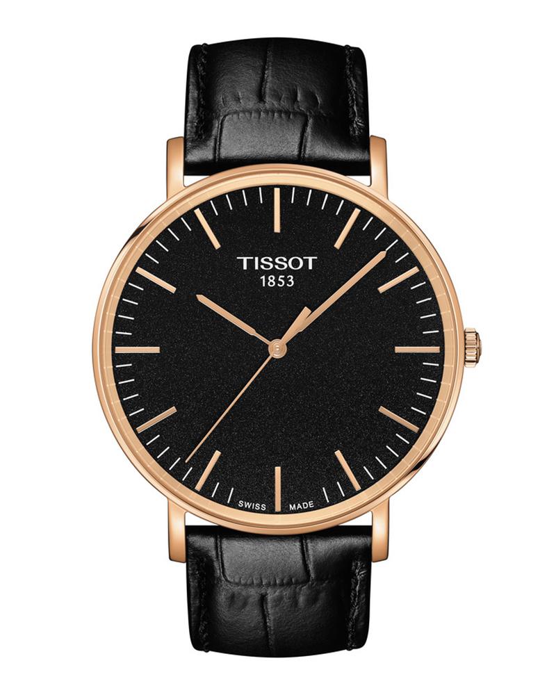 Ρολόι TISSOT T-Classic Everytime Black T1096103605100   brands tissot t classic