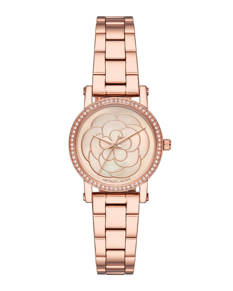 Ρολόι MICHAEL KORS Norie Crystals Rose Gold MK3892   brands michael kors