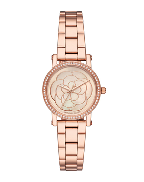 Ρολόι MICHAEL KORS Norie Crystals Rose Gold MK3892