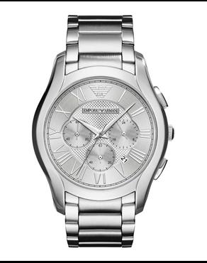 33965c9fd2 Ρολόι Emporio Armani Valente Chronograph silver AR11081