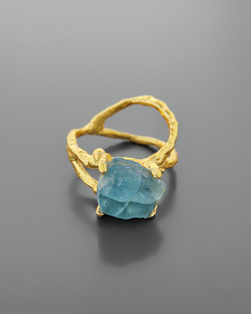Δαχτυλίδι ασημένιο 925 με απατίτη   γυναικα δαχτυλίδια δαχτυλίδια ασημένια
