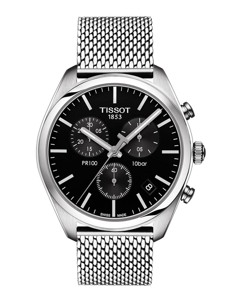 Ρολόι TISSOT T-Classic PR 100 Chronograph T1014171105101   brands tissot t classic