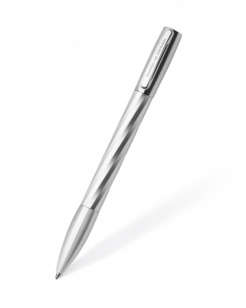 PORSCHE DESIGN 910489 BALLPOINT PEN SHAKE TWIST SILVER   δωρα στυλό   πένες