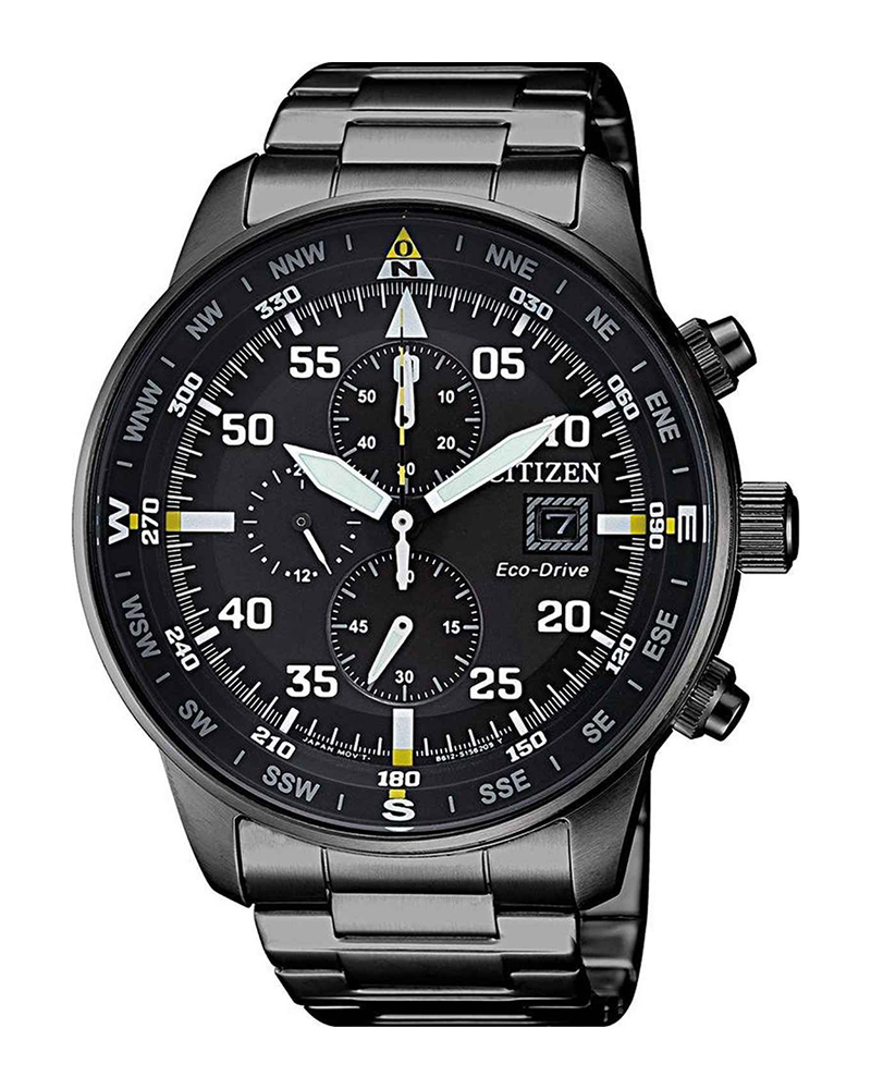 CITIZEN Aviator Eco-Drive Chronograph CA0695-84E   brands citizen