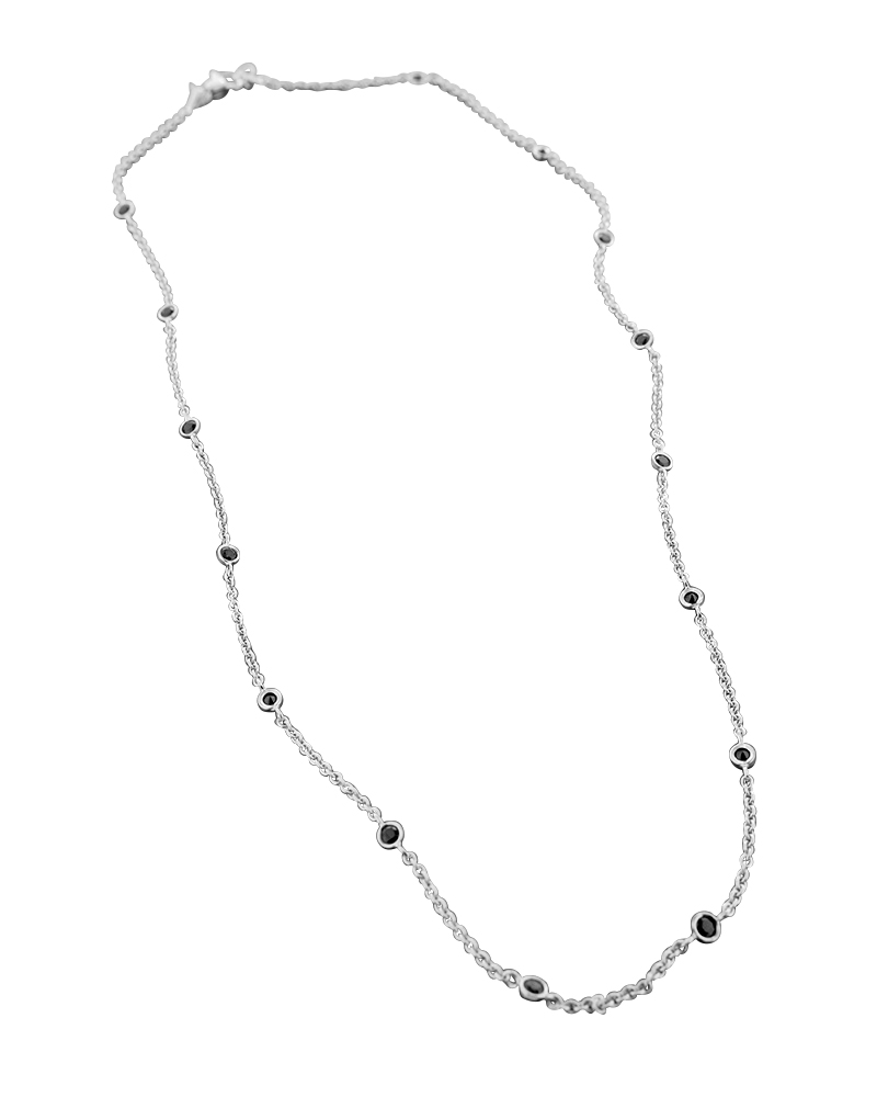 Kολιέ λευκόχρυσο Κ18 με όνυχα   κοσμηματα κρεμαστά κολιέ κρεμαστά κολιέ ημιπολύτιμοι λίθοι