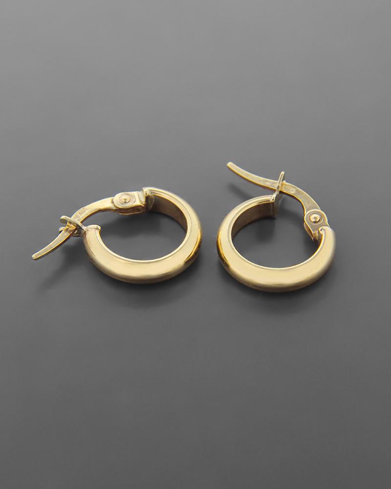 Σκουλαρίκια κρίκοι χρυσά Κ9   κοσμηματα σκουλαρίκια σκουλαρίκια κρίκοι