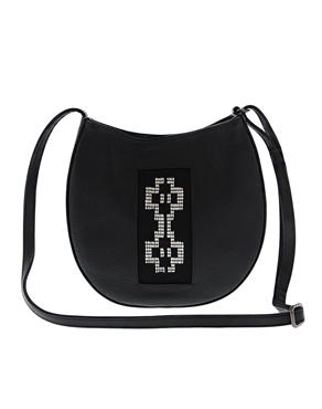 Sarakatsana handmade Small Cross Body leather bag TS00229