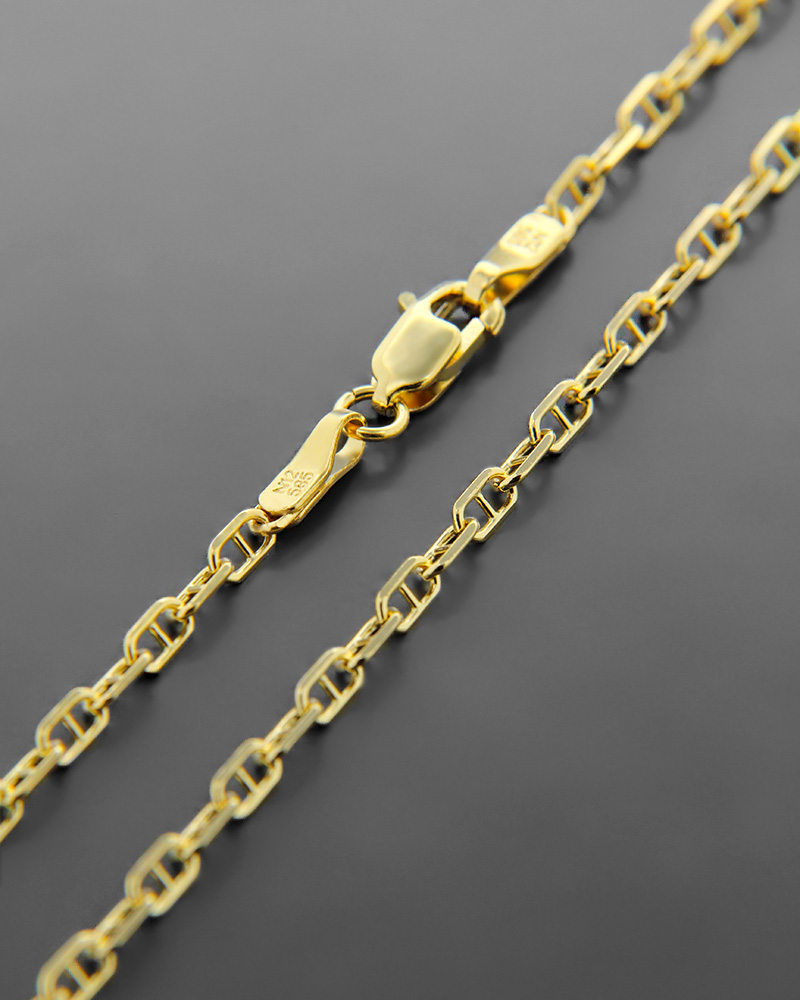 Αλυσίδα λαιμού χρυσή Κ14 60,5 cm   παιδι αλυσίδες λαιμού αλυσίδες χρυσές