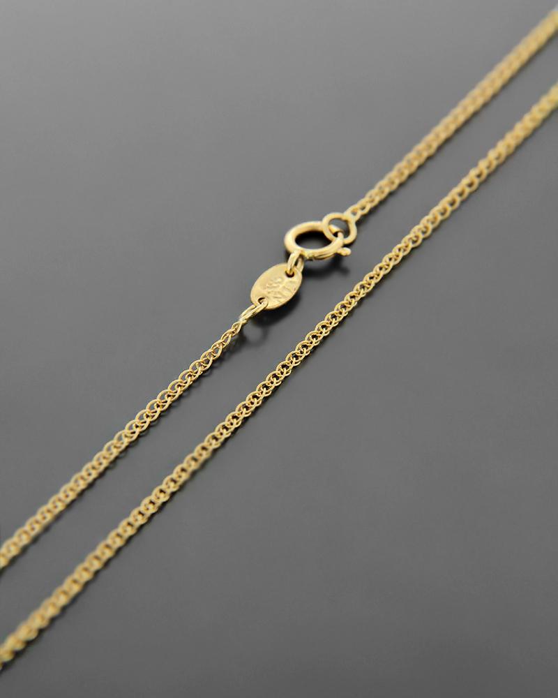 Αλυσίδα λαιμού χρυσή Κ14 40 cm   παιδι αλυσίδες λαιμού αλυσίδες χρυσές