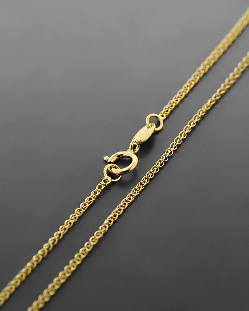 Αλυσίδα λαιμού χρυσή Κ14 50,5 cm   γυναικα αλυσίδες λαιμού αλυσίδες χρυσές