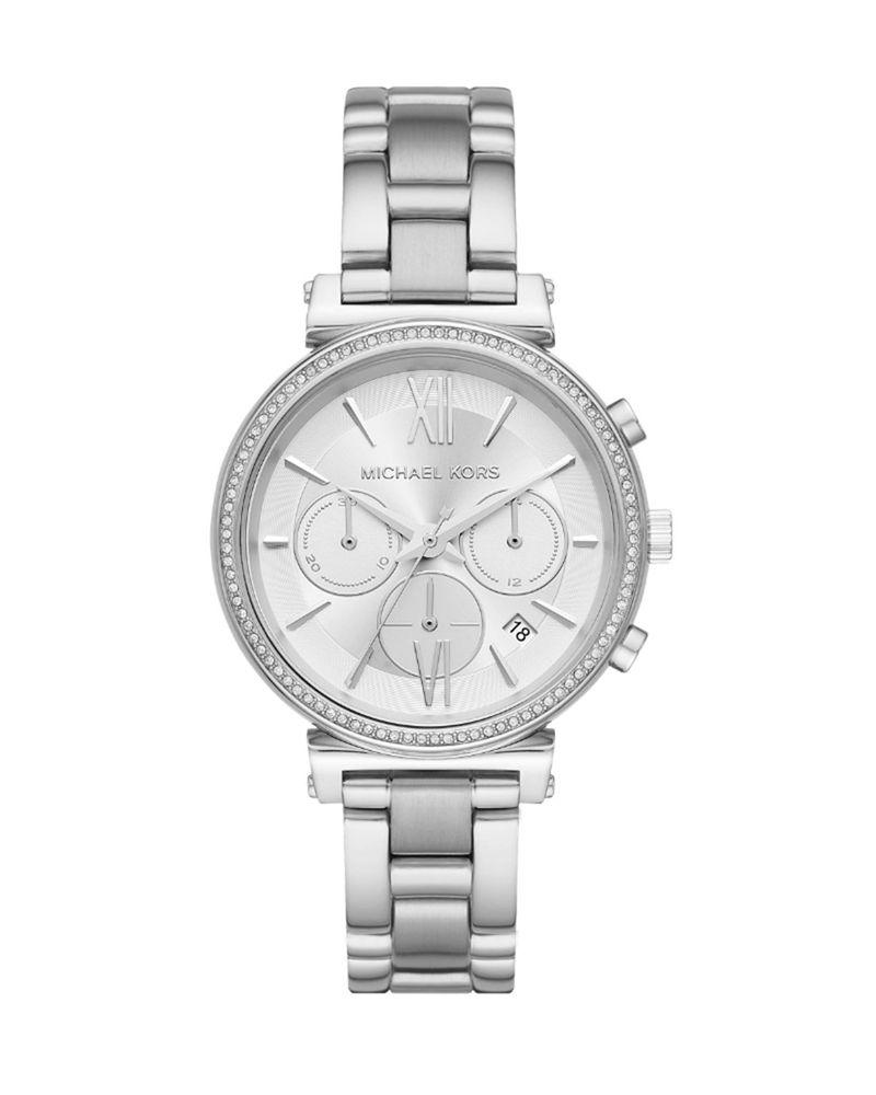 Ρολόι Michael Kors Sofie Stainless Steel Chronograph MK6575   brands michael kors