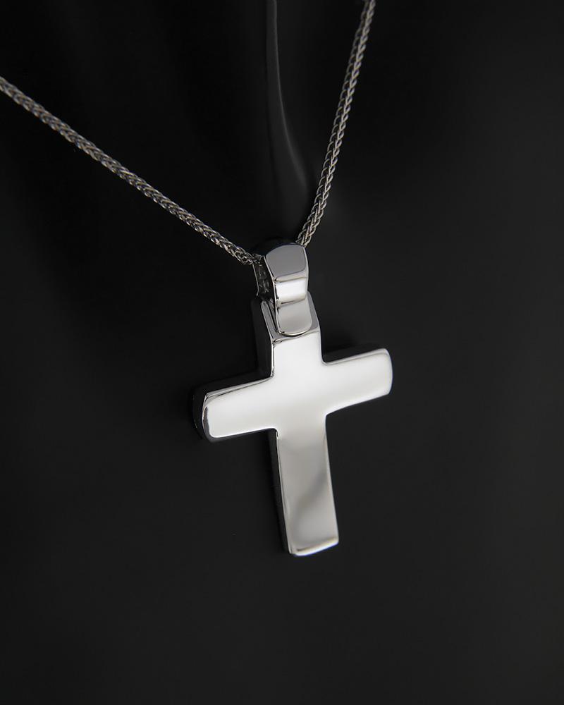Σταυρός λευκόχρυσος Κ14   παιδι βαπτιστικοί σταυροί βαπτιστικοί σταυροί για αγόρι