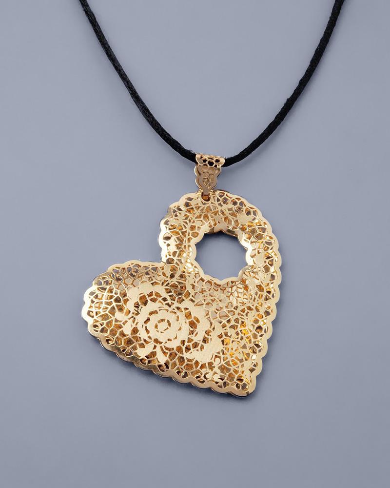 Κρεμαστό καρδιά χρυσό Κ18   γυναικα κρεμαστά κολιέ κρεμαστά κολιέ καρδιές