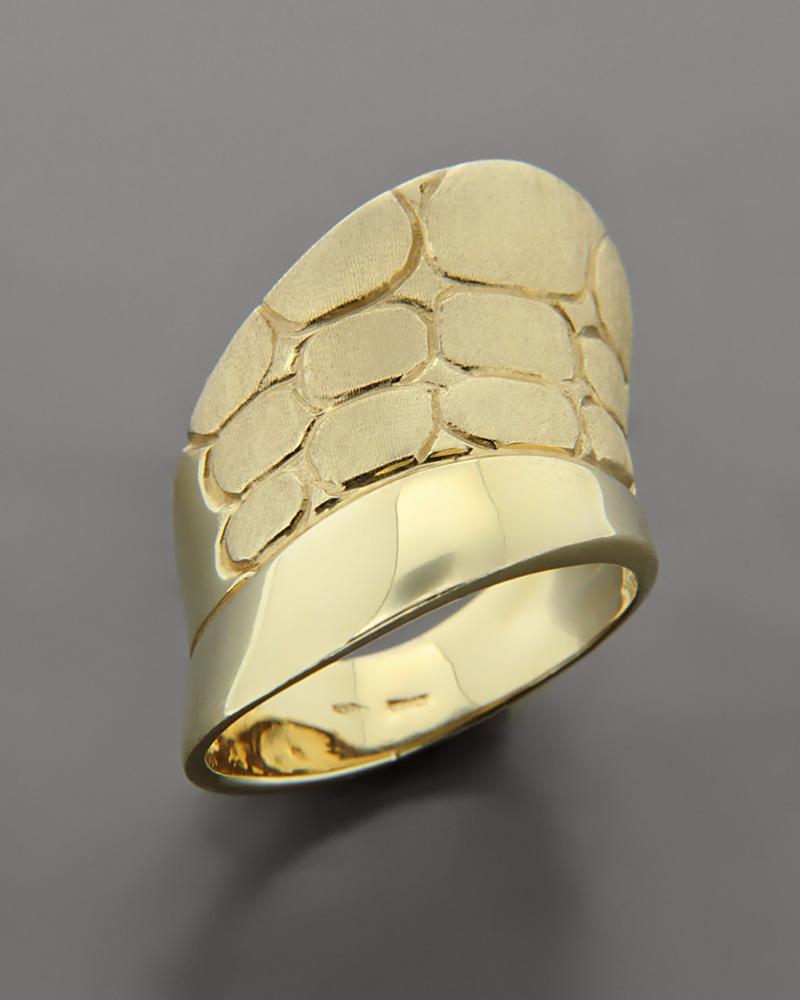 Δαχτυλίδι από χρυσό Κ14