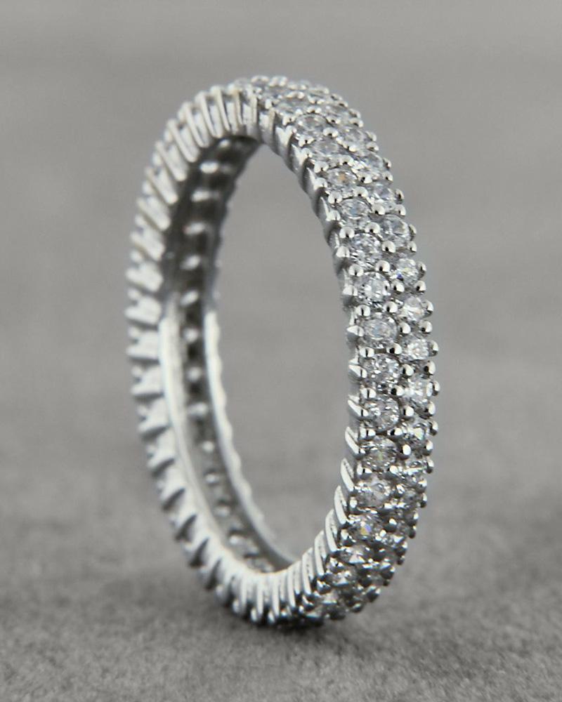 Δαχτυλίδι Σειρέ λευκόχρυσο Κ14   γυναικα δαχτυλίδια δαχτυλίδια λευκόχρυσα