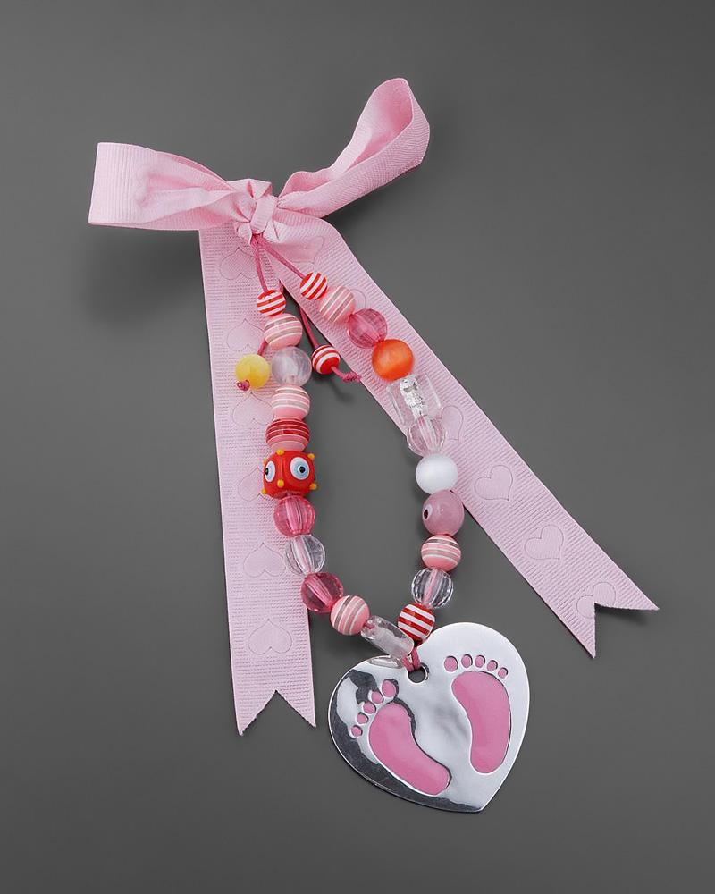Διακοσμητικό κρεμαστό γούρι από ασήμι 925 για κοριτσάκι   δωρα παιδικά γούρια   δώρα