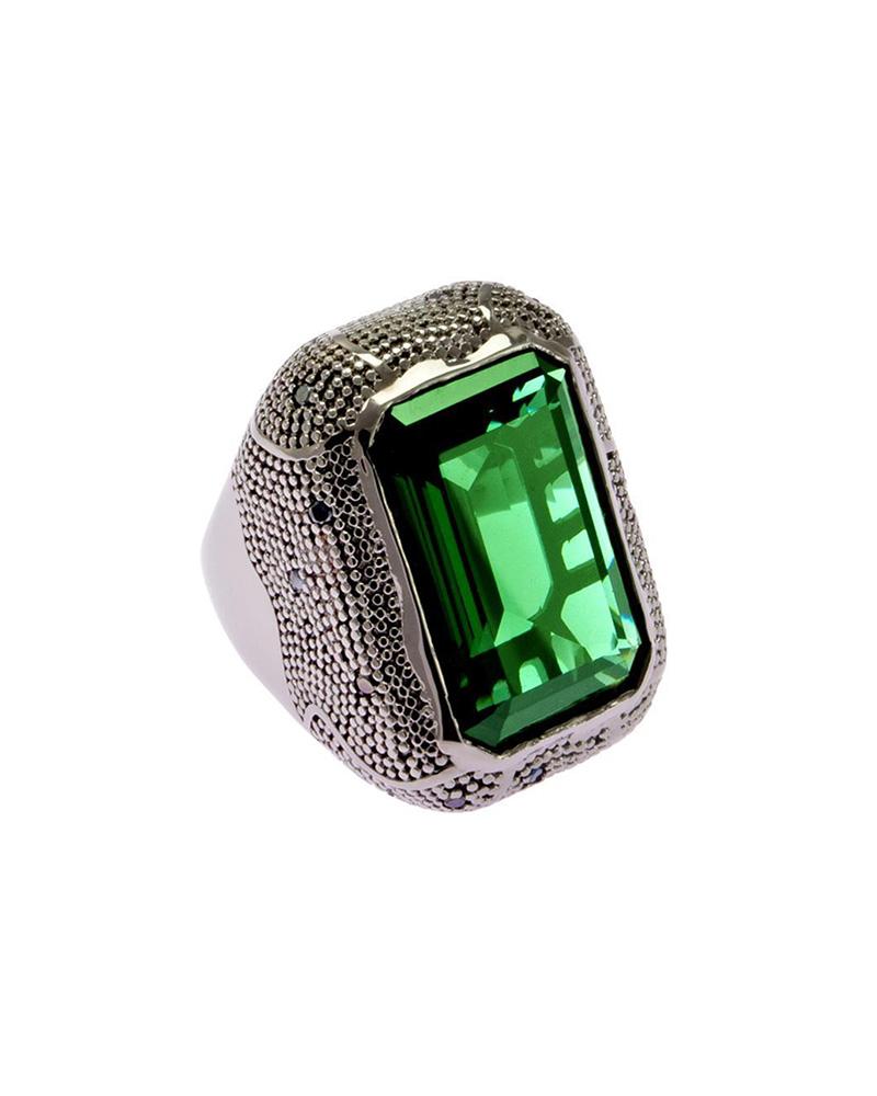 Δαχτυλίδι από ατσάλι Rebecca Manhattan RE00004   brands rebecca