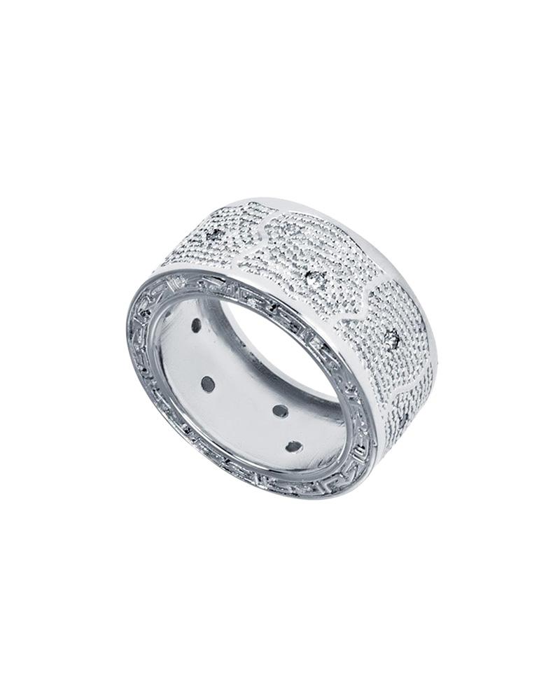 Δαχτυλίδι από ατσάλι Rebecca Manhattan RE00005   brands rebecca