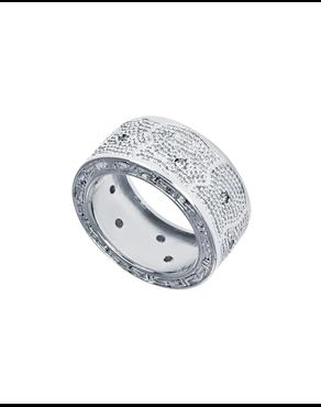 c85b216b0e Δαχτυλίδι από ατσάλι Rebecca Manhattan RE00005