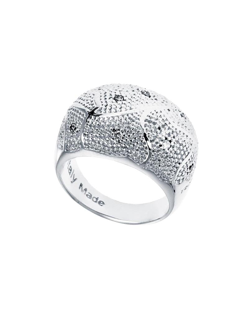 Δαχτυλίδι από ατσάλι Rebecca Manhattan RE00054   brands rebecca