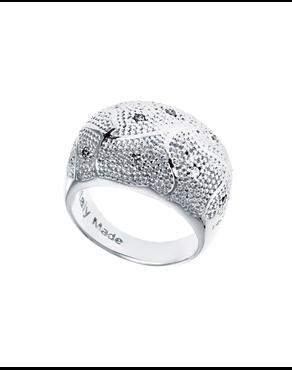 962ad0d151 Δαχτυλίδι από ατσάλι Rebecca Manhattan RE00054