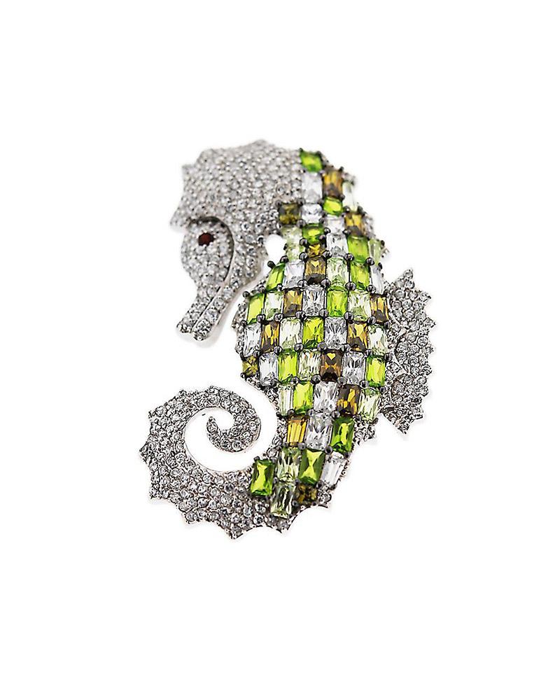 Καρφίτσα ασημένια 925 με Ζιργκόν   γυναικα καρφίτσες