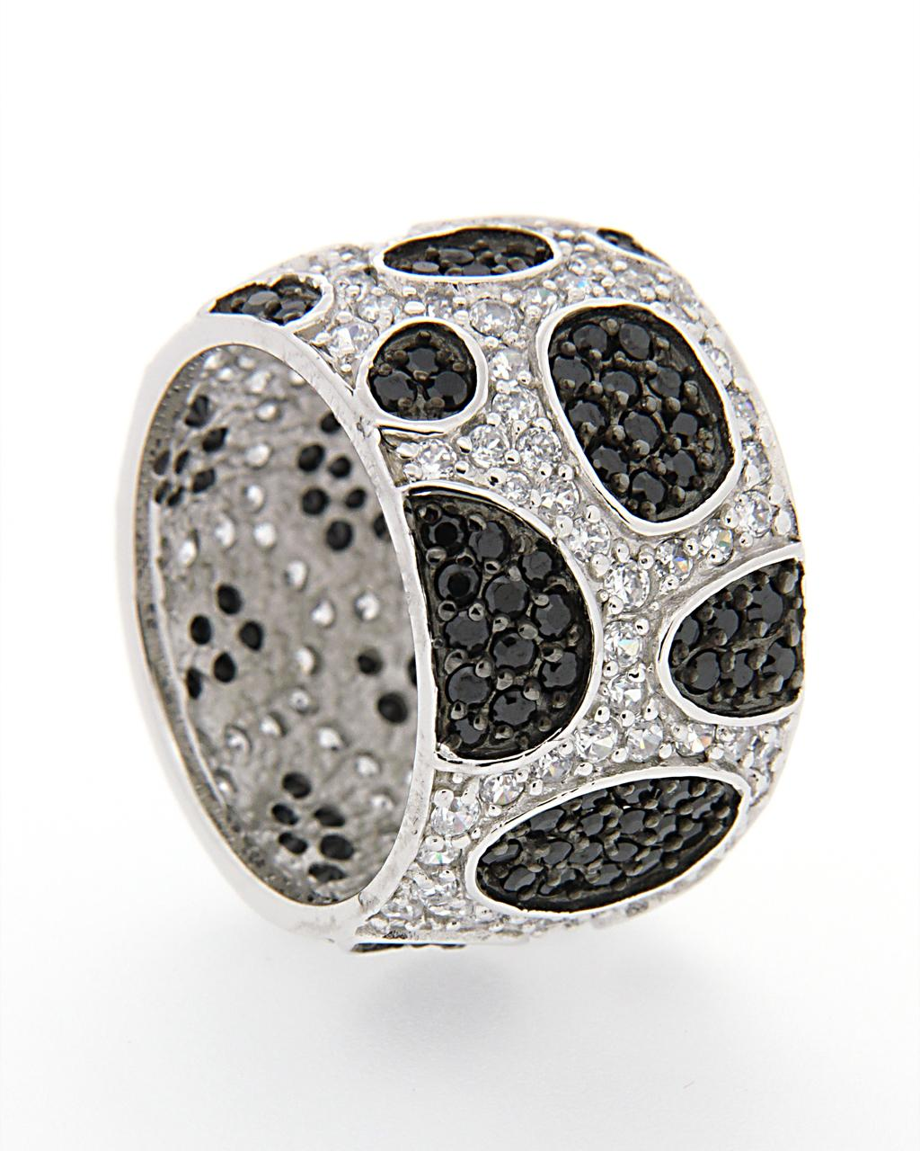 Δαχτυλίδι ασημένιο 925 με Ζιργκόν AD02262   γυναικα δαχτυλίδια δαχτυλίδια ασημένια