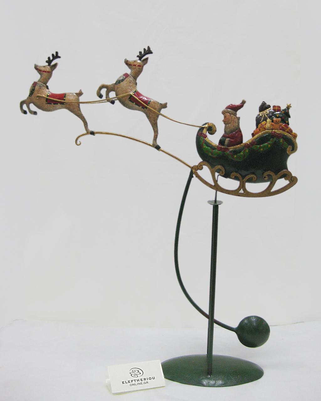 Κουνιστό έλκηθρο με τον Αγιο Βασίλη   δωρα δώρα χριστουγέννων