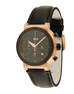 Ρολόι Hugo Boss Chrono Rosegold Black 1512312