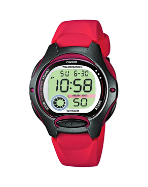 Ρολόι CASIO Collection Digital Red LW-200-4AVEF