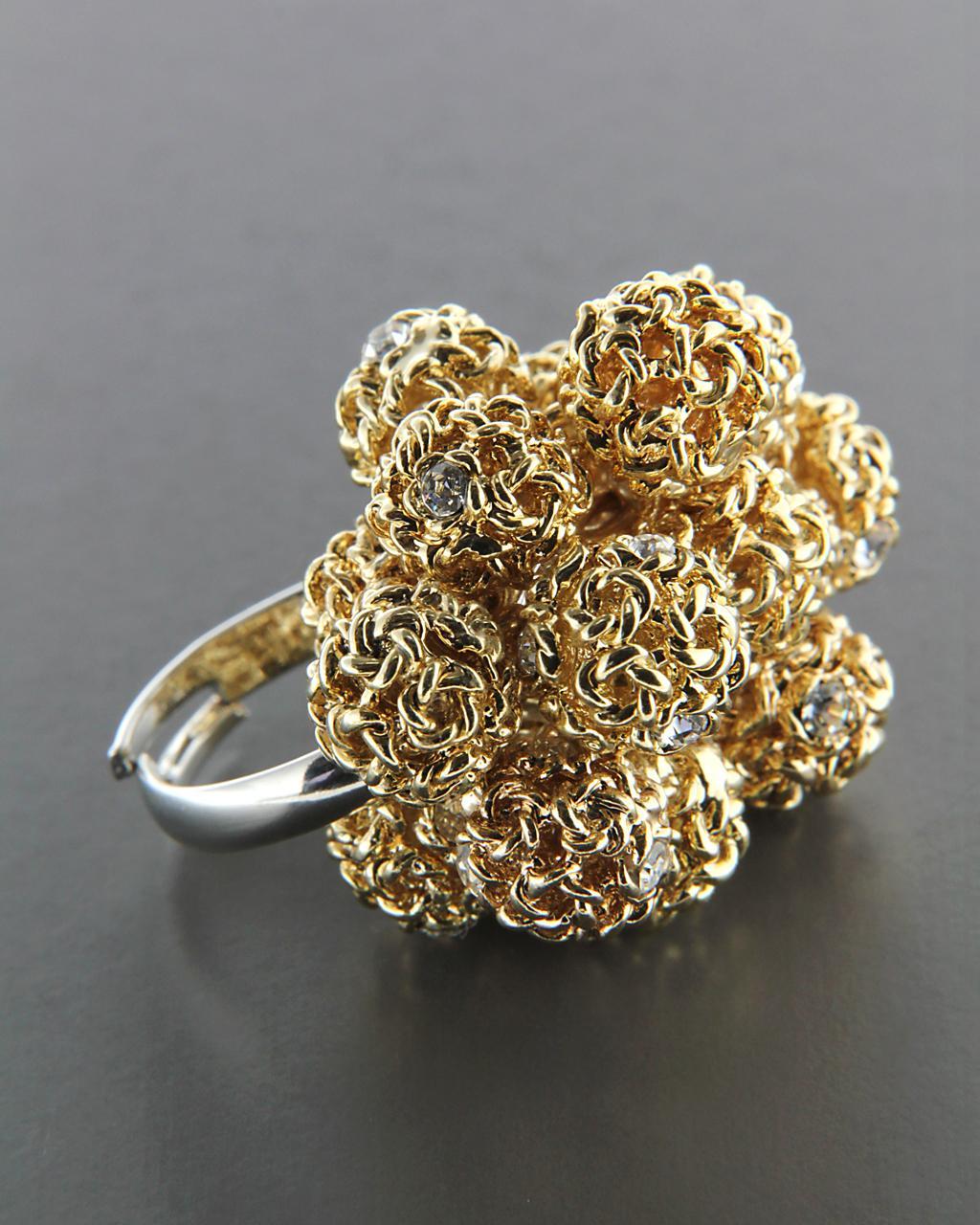 Δαχτυλίδι από κράμα μετάλλων με Ζιργκόν   κοσμηματα δαχτυλίδια δαχτυλίδια fashion