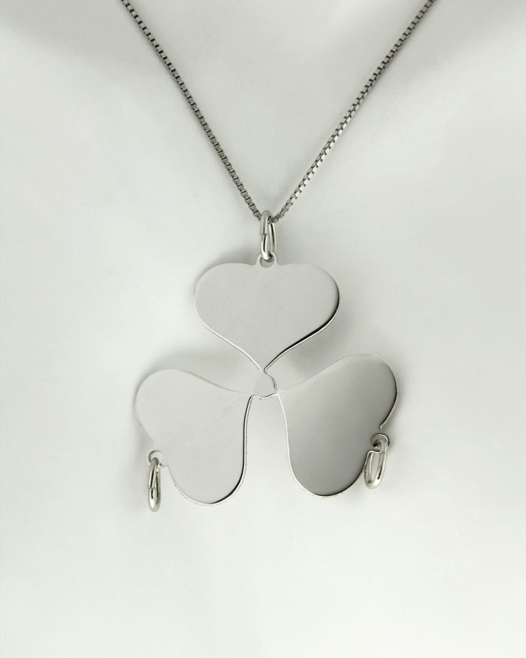 Κρεμαστό ασημένιο 925 με καρδιές   γυναικα κοσμήματα με καρδιές