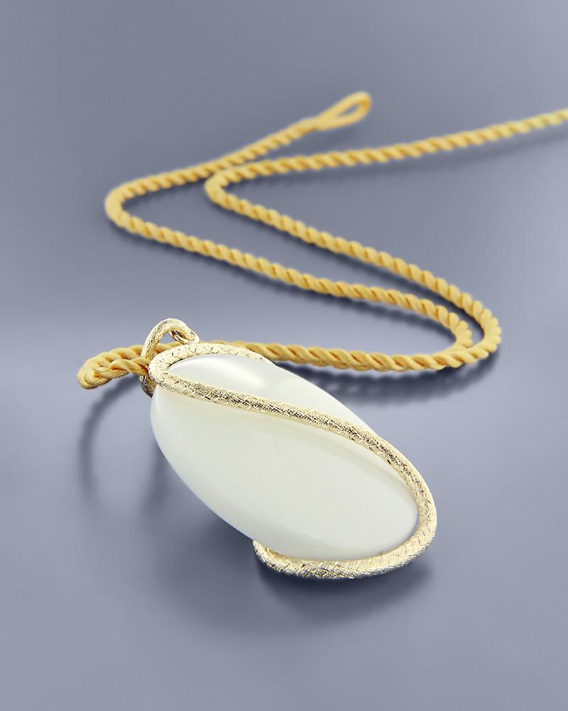 Κρεμαστό χρυσό Κ14 με Όνυχα   ζησε το μυθο δώρα κουμπάρου κουμπαρα