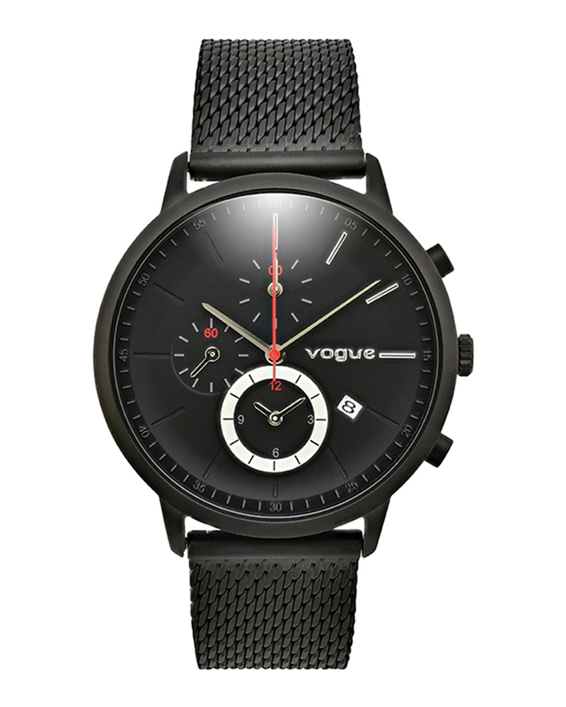 Ρολόι VOGUE Unisex Chronograph Black 550892   brands vogue