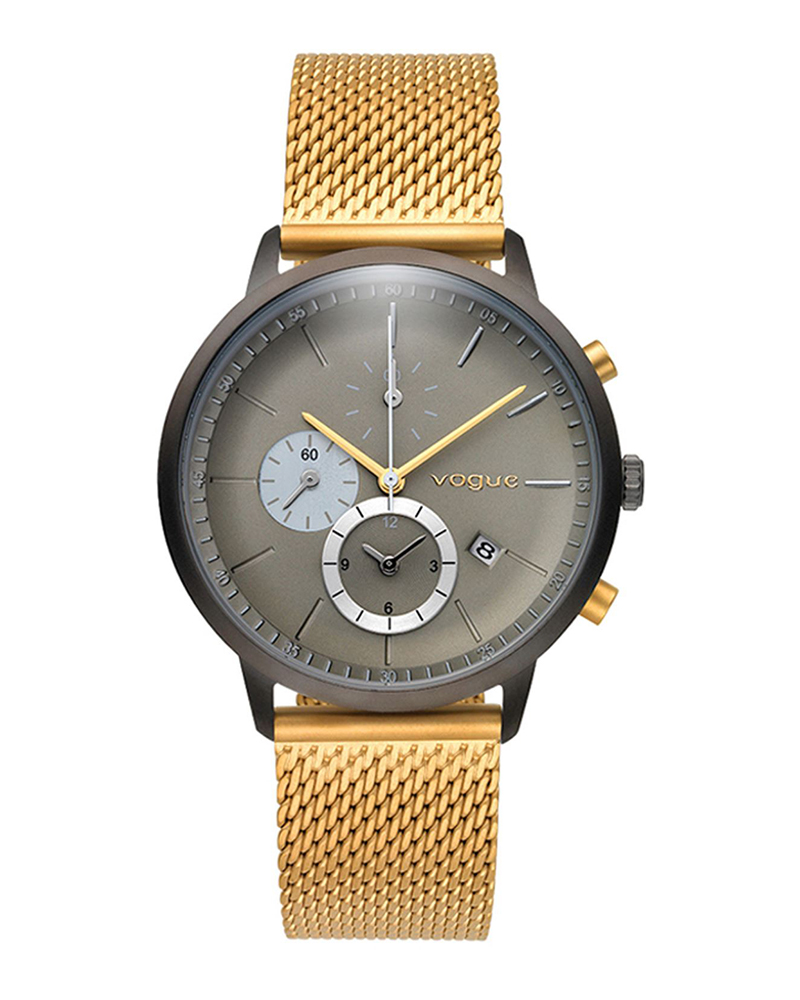 Ρολόι VOGUE Unisex Chronograph Gold 550893   brands vogue
