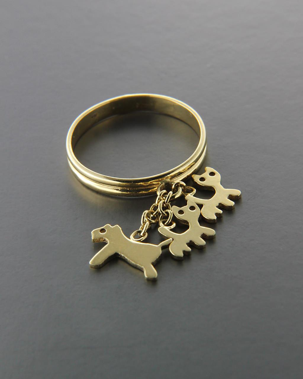 Παιδικό δαχτυλίδι 18Κ χρυσό   παιδι δαχτυλίδια παιδικά
