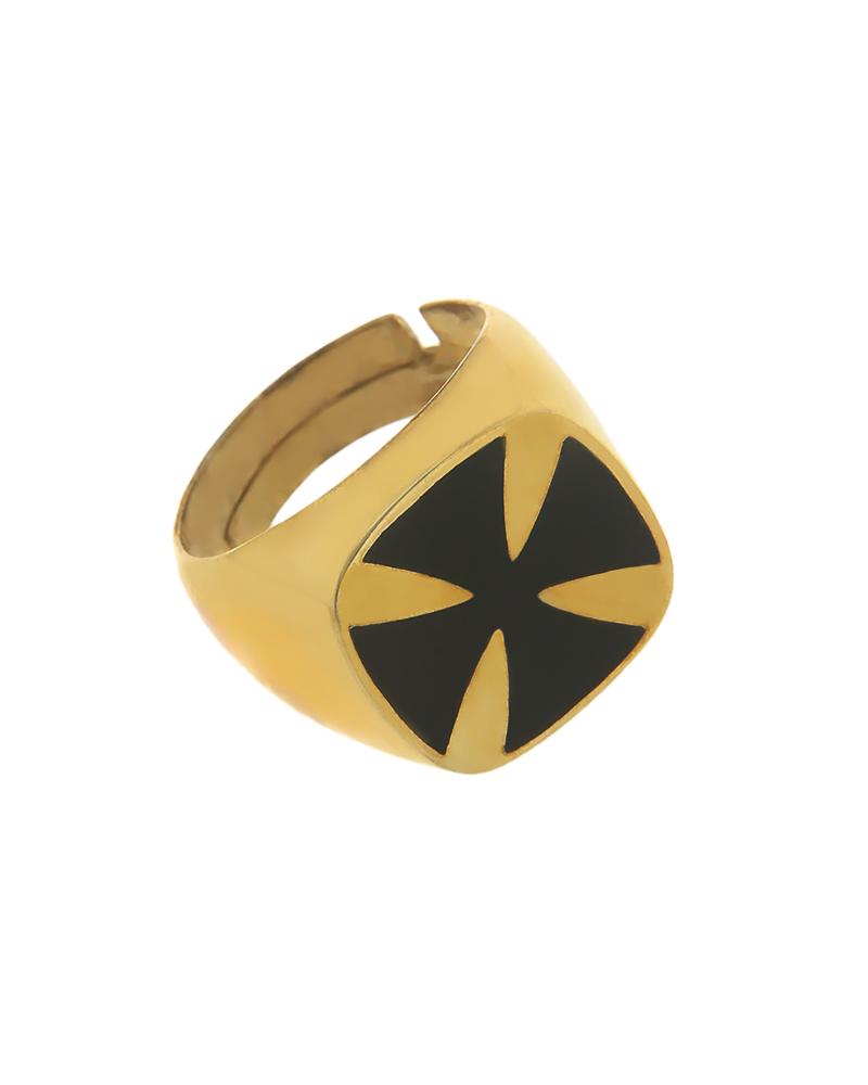Δαχτυλίδι σεβαλιέ 925 ασημένιο με Σμάλτο   νεεσ αφιξεισ κοσμήματα γυναικεία