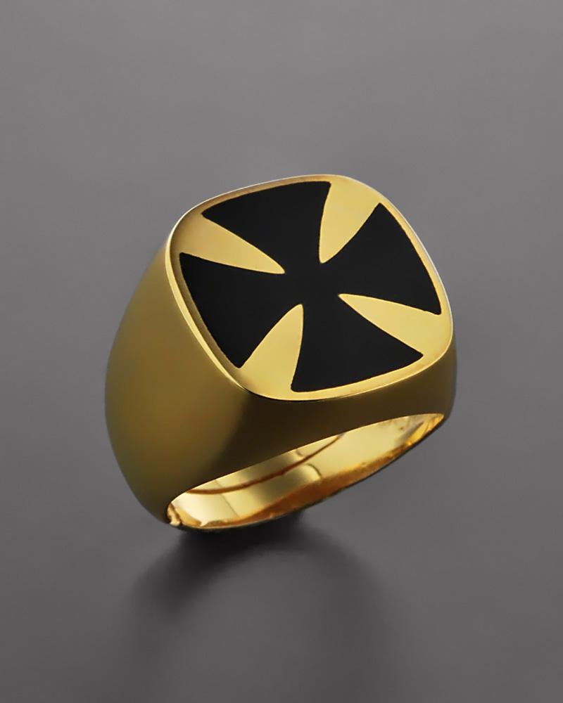 Δαχτυλίδι ασημένιο 925 με Σμάλτο   κοσμηματα δαχτυλίδια δαχτυλίδια chevalier