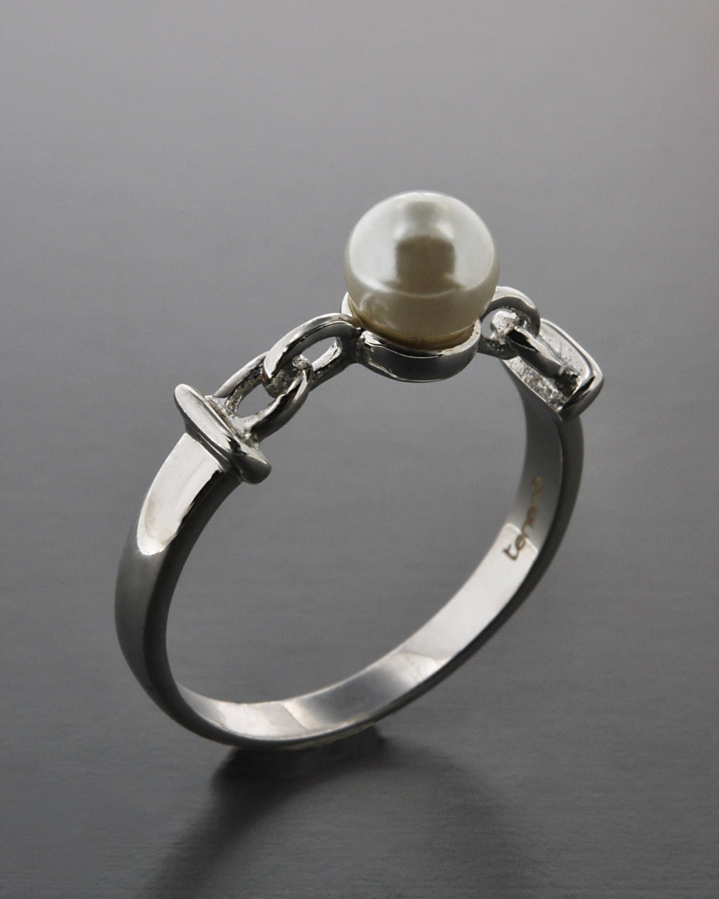 Μονόπετρο δαχτυλίδι ασημένιο 925 με Πέρλα   γαμοσ μονόπετρα μονοπετρα με ζιργκόν