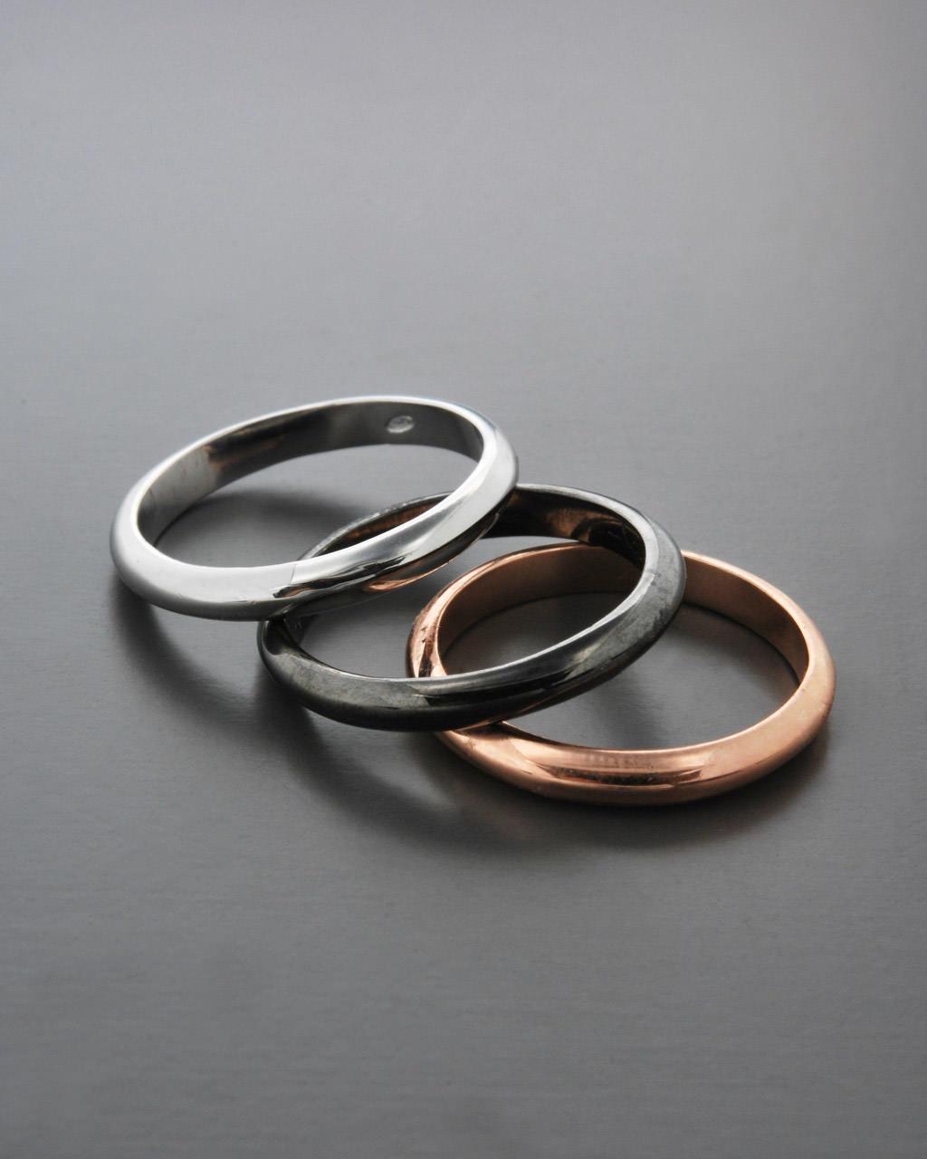 Δαχτυλίδι ασημένιο 925 τρίχρωμο   γυναικα δαχτυλίδια δαχτυλίδια ασημένια
