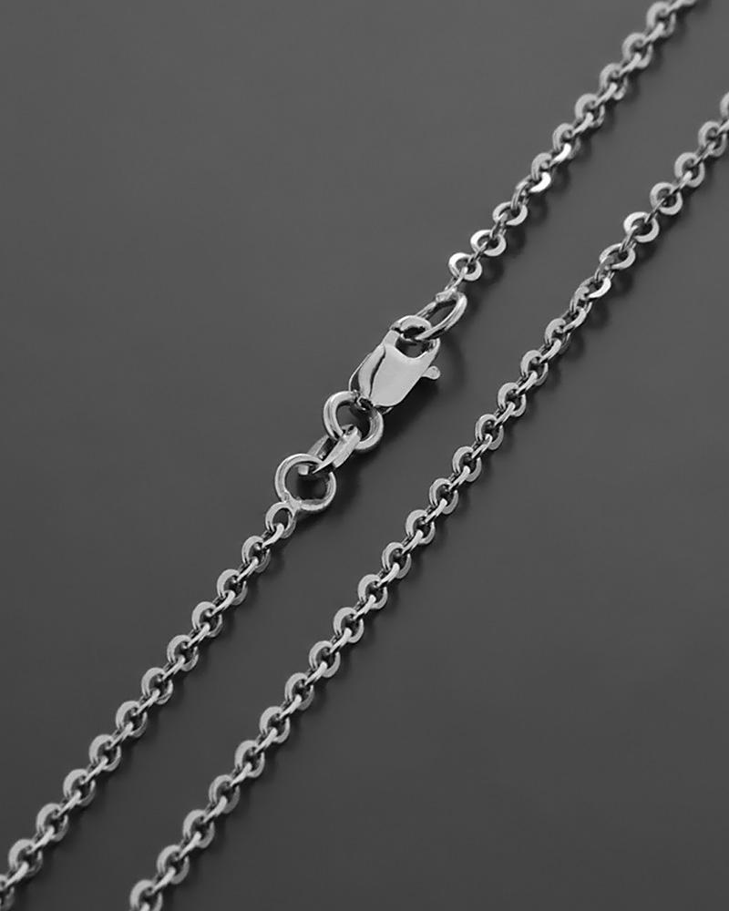 Λευκόχρυση αλυσίδα λαιμού Κ14   παιδι αλυσίδες λαιμού αλυσίδες λευκόχρυσες