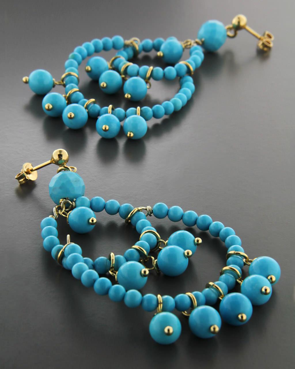 Σκουλαρίκια ασημένια 925 με Τυρκουάζ   γυναικα σκουλαρίκια σκουλαρίκια ημιπολύτιμοι λίθοι