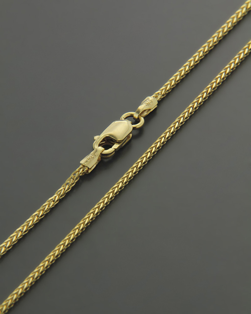 Αλυσίδα λαιμού χρυσή Κ9 45CM   κοσμηματα αλυσίδες λαιμού αλυσίδες χρυσές