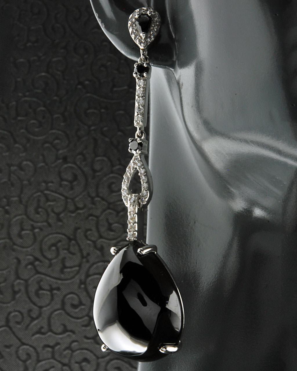 Σκουλαρίκια από ασήμι 925 με Αιματίτη και Ζιργκόν   γυναικα σκουλαρίκια σκουλαρίκια ημιπολύτιμοι λίθοι